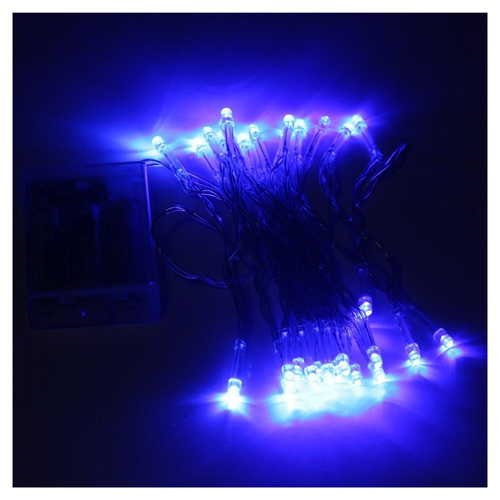 4M 40 LED Battery Operated Christmas Wedding Fairy String Lights BT eBay