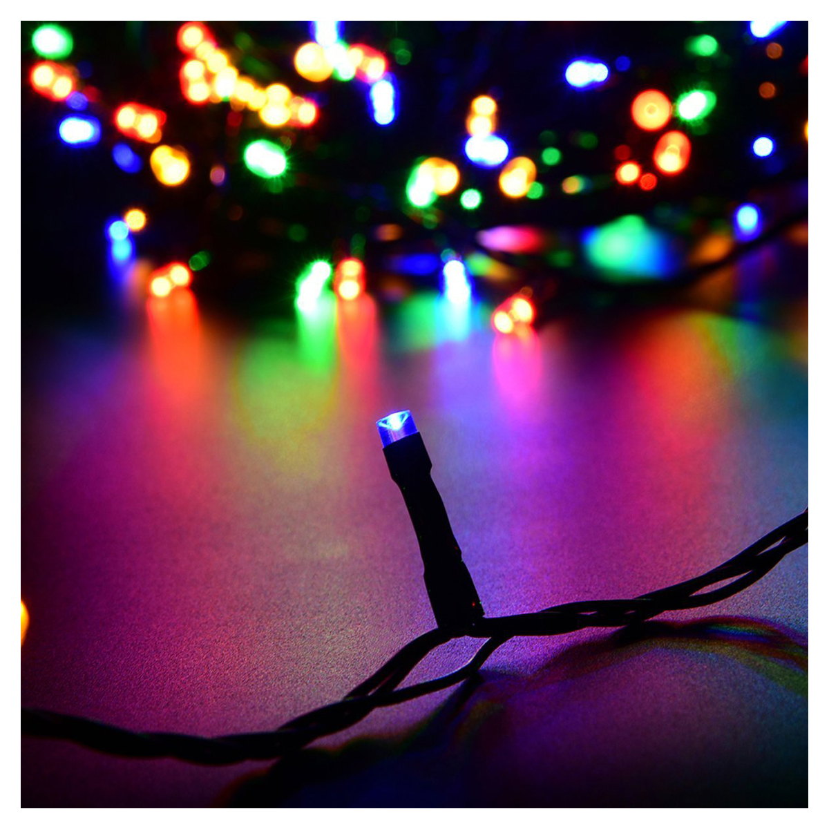 Led party string lights low voltage 30m 98ft for outdoor for Low voltage led patio lights