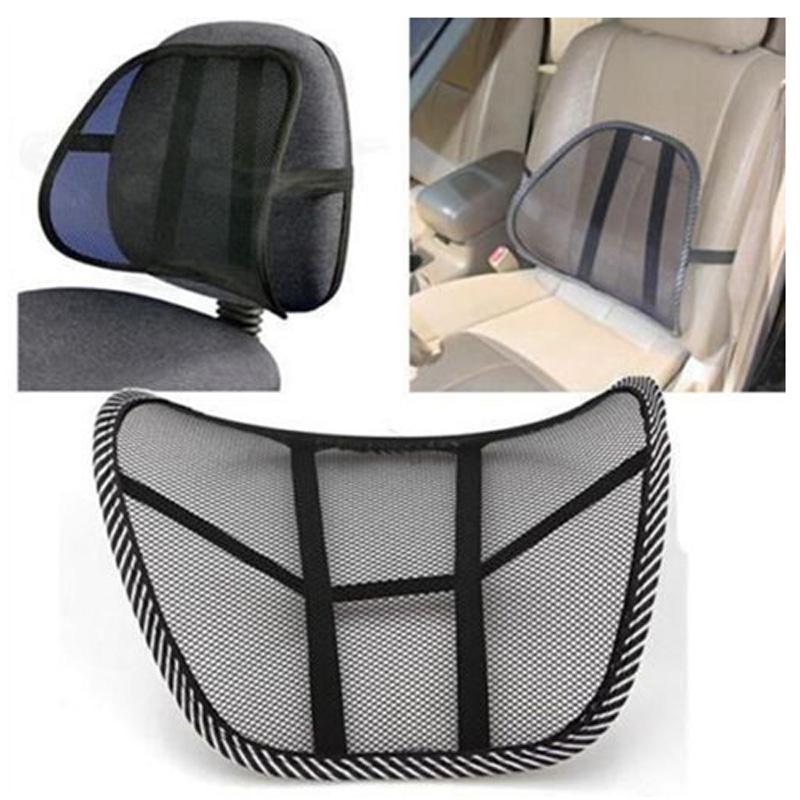 mesh lumbar back brace support chair cushion seat waist pillow l6