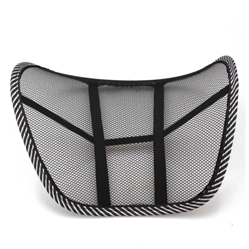 mesh lumbar back brace support chair cushion seat waist pillow posture