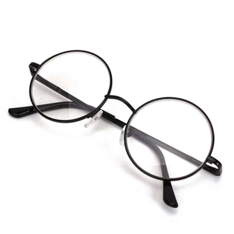 black metal rimmed reading glasses retro frame