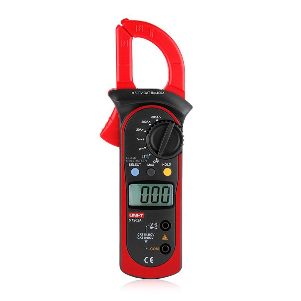 Uni t ut202a 600a multimetre multimetre a pince digital - Metre pour mesurer ...