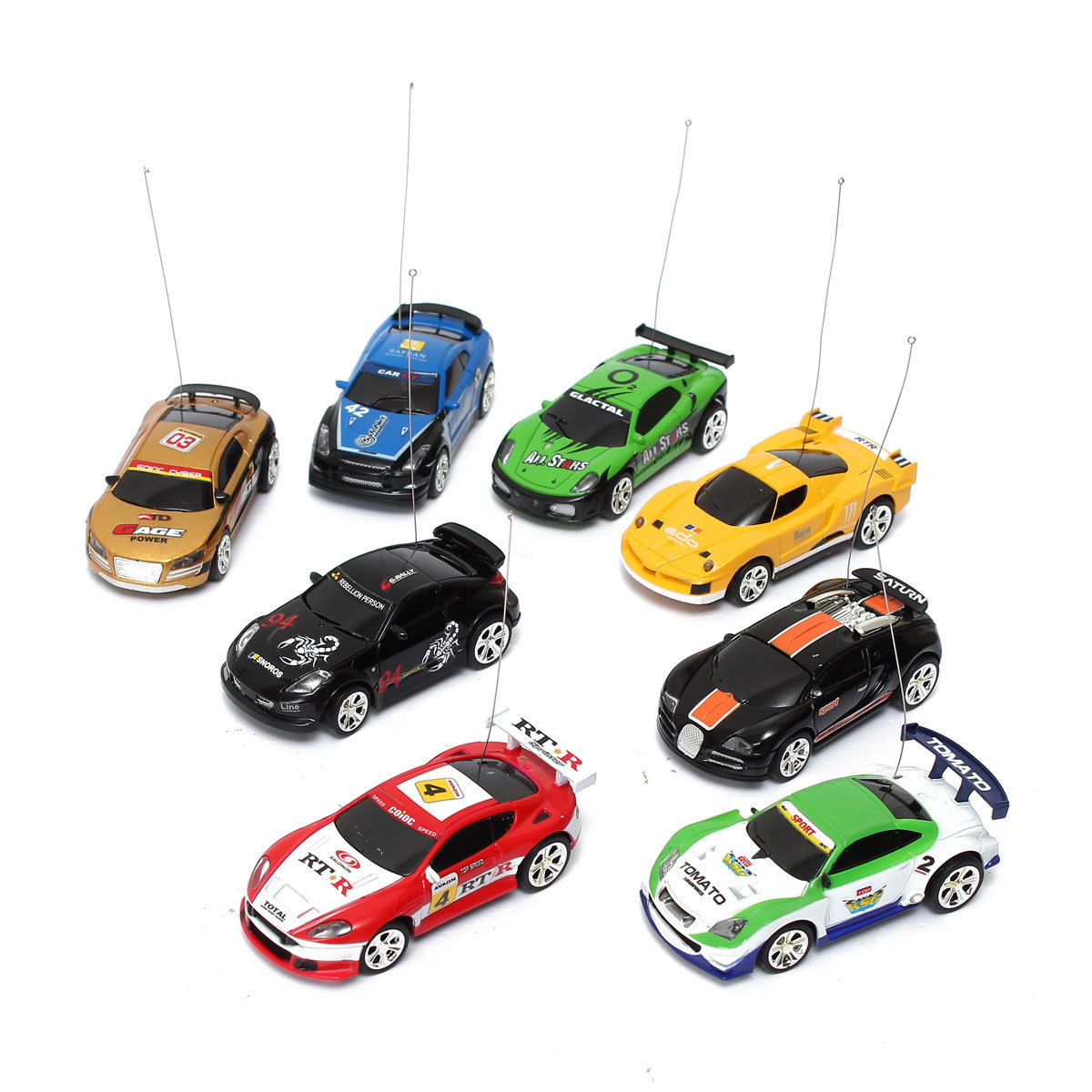 mini koks funk fernbedienung rc micro racing auto geburtstag geschenk spiel v1n4 ebay. Black Bedroom Furniture Sets. Home Design Ideas