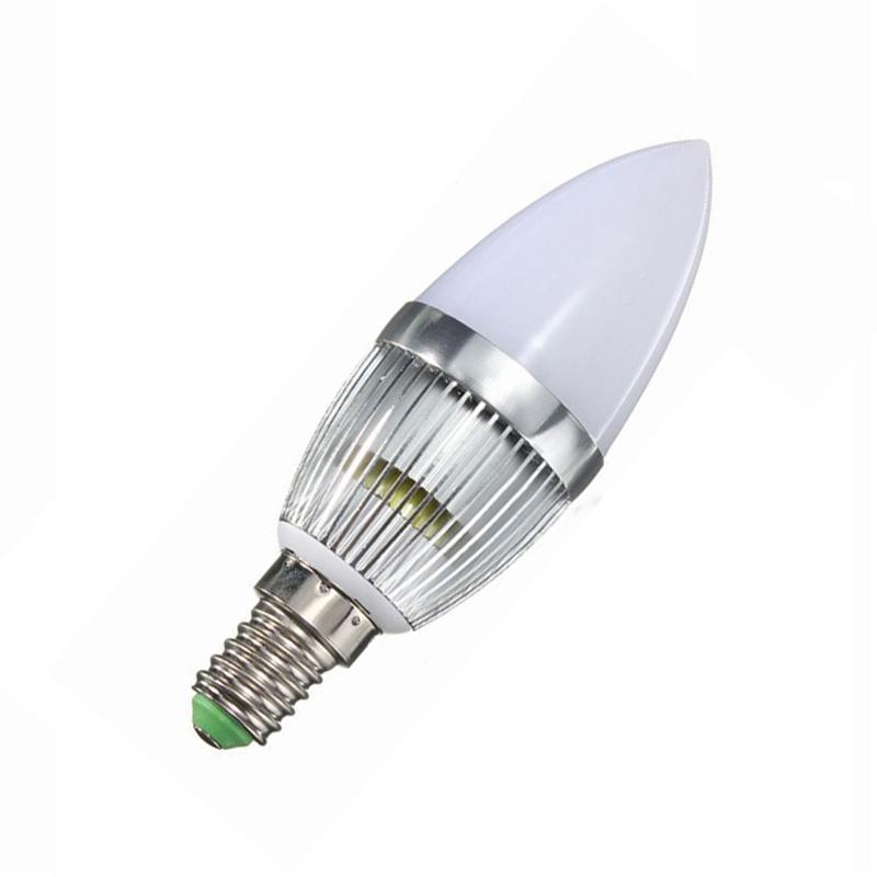 e14 3w led candle lamp candelabra candlestick rgb spot light bulb remote g8b5. Black Bedroom Furniture Sets. Home Design Ideas