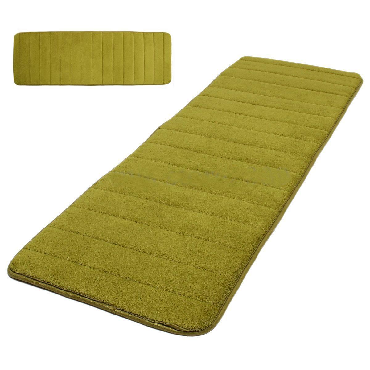 120x40cm absorbent nonslip memory foam kitchen bedroom door mat rug carpet di ebay. Black Bedroom Furniture Sets. Home Design Ideas