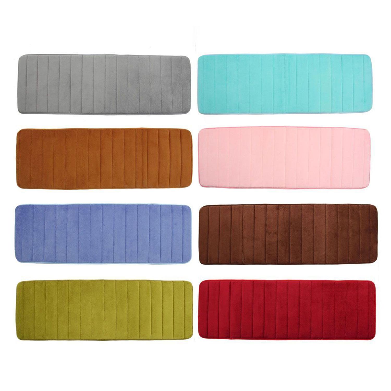 absorbent nonslip memory foam kitchen bedroom door floor mat rug carpet ed ebay. Black Bedroom Furniture Sets. Home Design Ideas