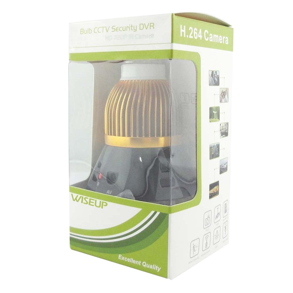 2x 1280 x 720p hd camera cachee ampoule a led active par le mouvement securitewt ebay. Black Bedroom Furniture Sets. Home Design Ideas