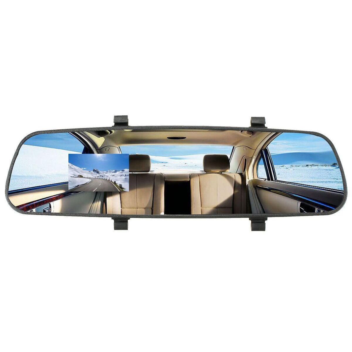 hd 1080p in car rear view mirror dash dvr cam video recorder camera monitor l3 ebay. Black Bedroom Furniture Sets. Home Design Ideas