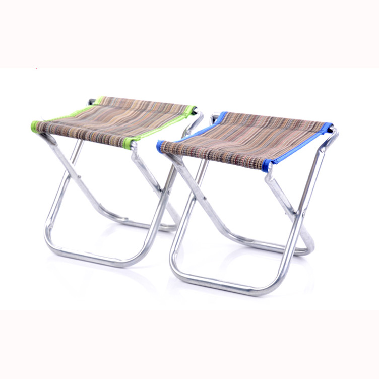 portable aluminum folding chair stool outdoor fishing. Black Bedroom Furniture Sets. Home Design Ideas
