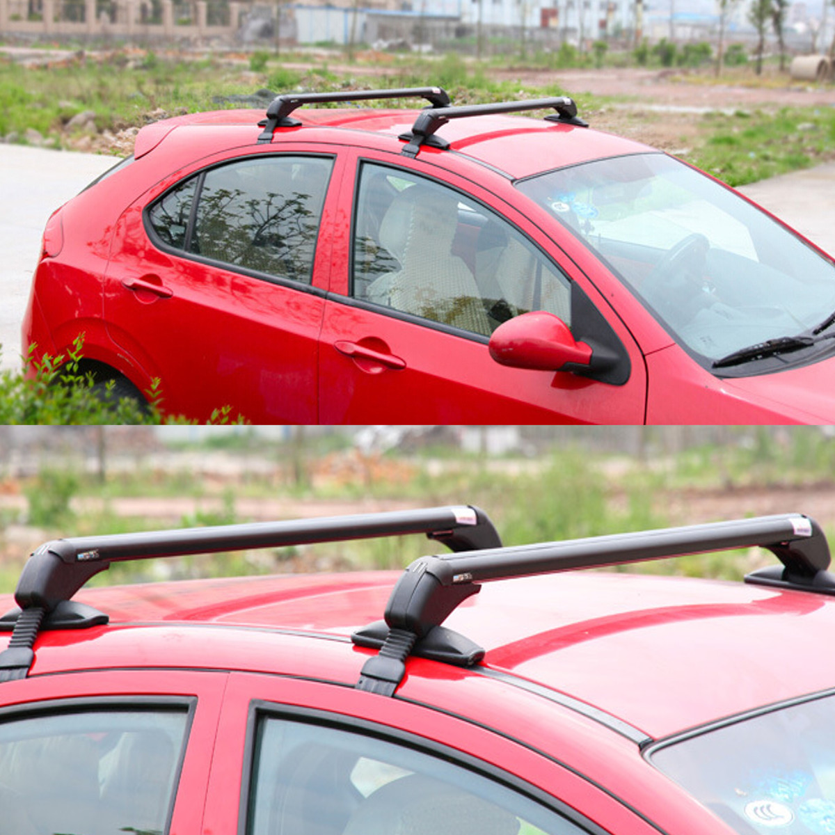 Universal Anti Theft Car Roof Bars Car Without Rails