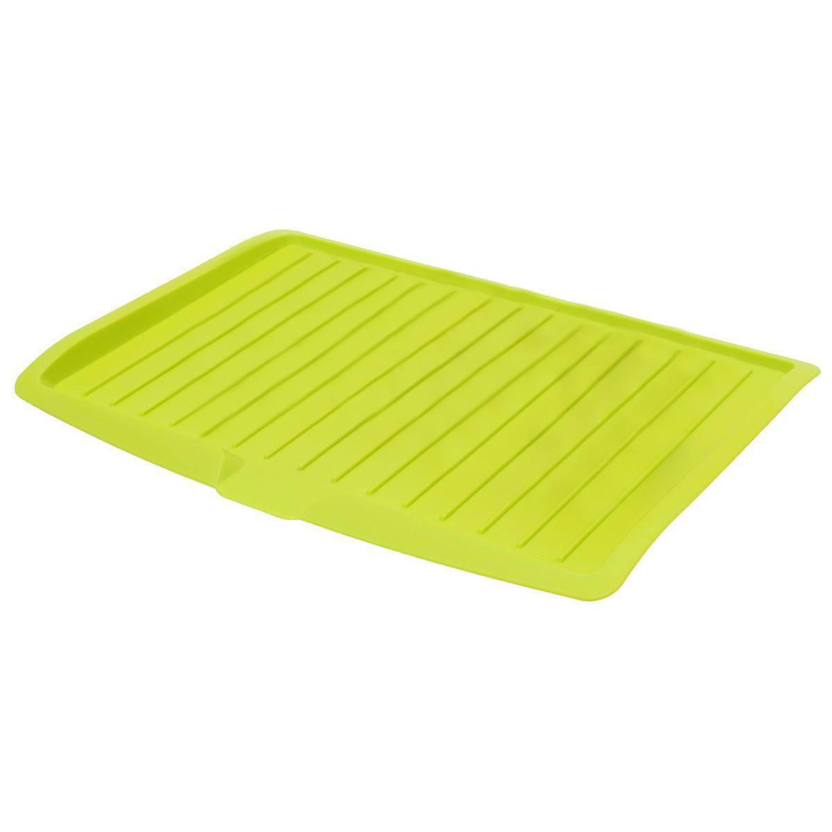 Plastic Dish Drainer Drip Tray Plate Cutlery Rack Kitchen ...