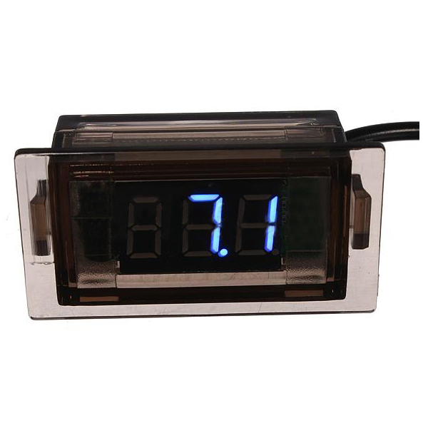 Battery Monitor Panel : Dc v led battery volt voltage meter monitor auto