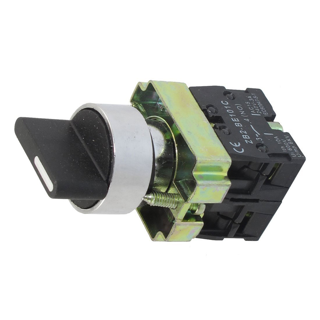 22mm latching 2 no 3 position rotary selector select for 3 com switch