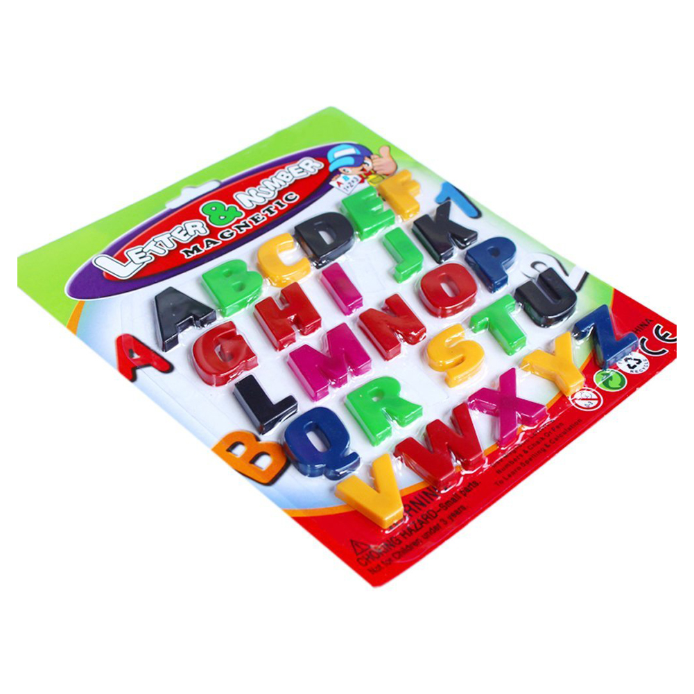 Alphabet Learning Toys : Abc alphabet fridge magnet early learning educational toys