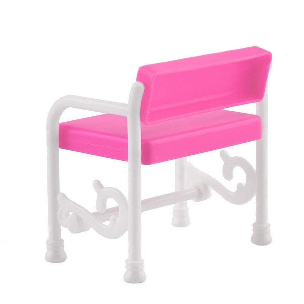 Tocador Y Silla Conjunto De Accesorios De Muebles Para