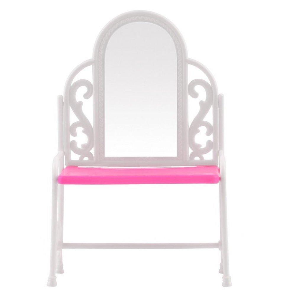 Tocador y silla conjunto de accesorios de muebles para - Sillas para tocador ...