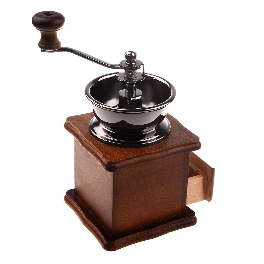 moulin a cafe manuel en bois metal grinder moulin couleur. Black Bedroom Furniture Sets. Home Design Ideas