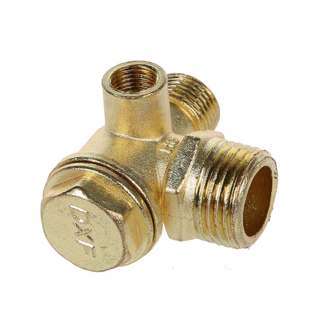 valve clapet anti retour en laiton pour le compresseur a air filetage i4u8 ebay. Black Bedroom Furniture Sets. Home Design Ideas
