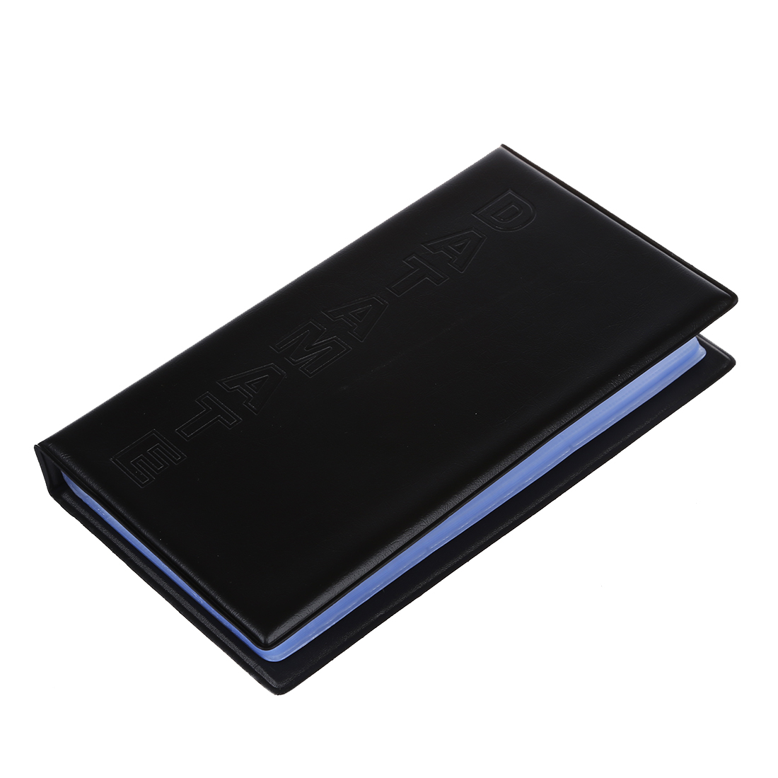 Black Business Name Card Holder Book for 144 Cards Office Company ...