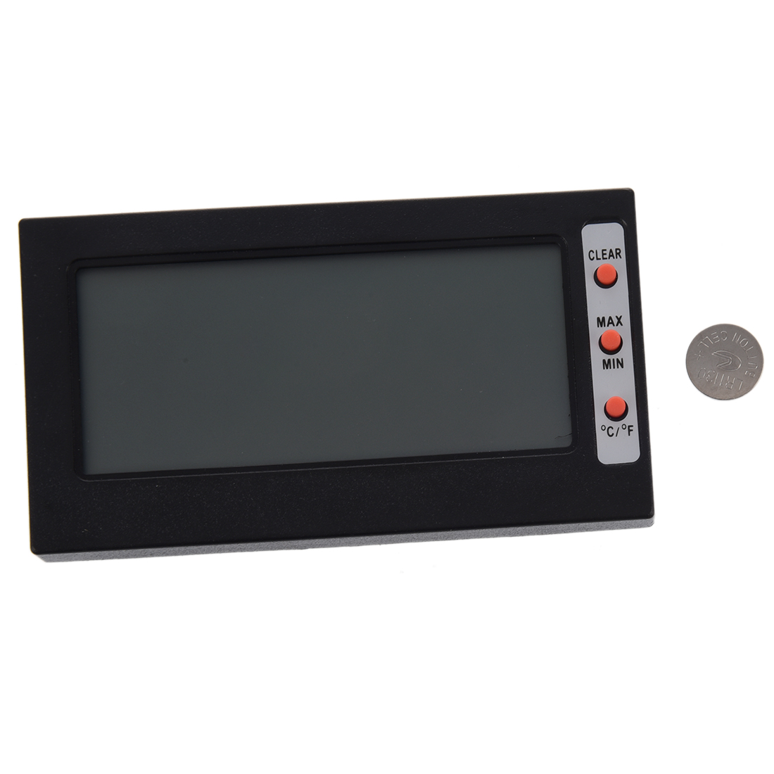 LCD Display Thermometer Hygrometer Temperature Humidity Meter Gauge #B12D1A