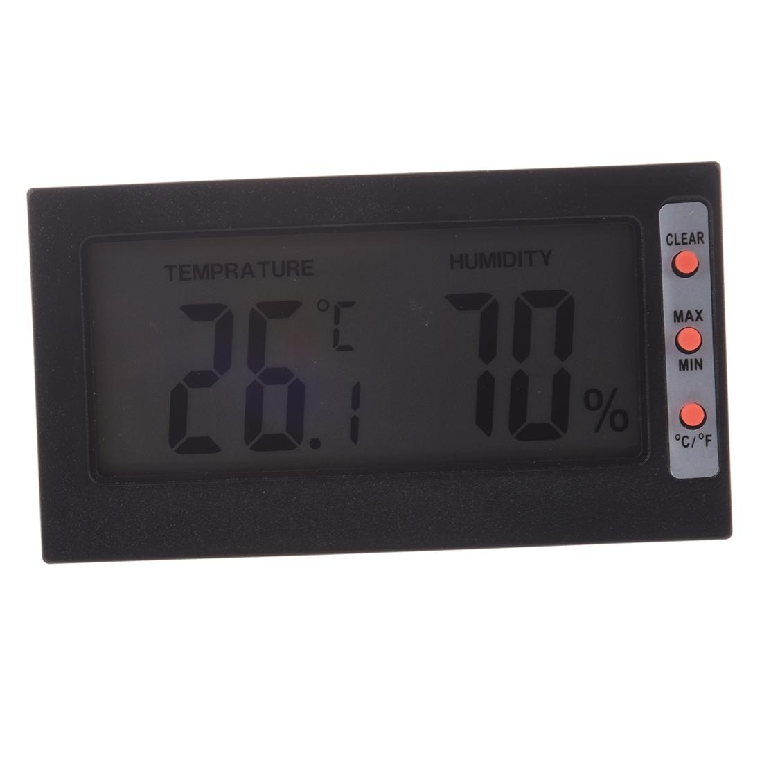 Digital Humidity Meter : Digital lcd dicplay thermometer hygrometer temperature
