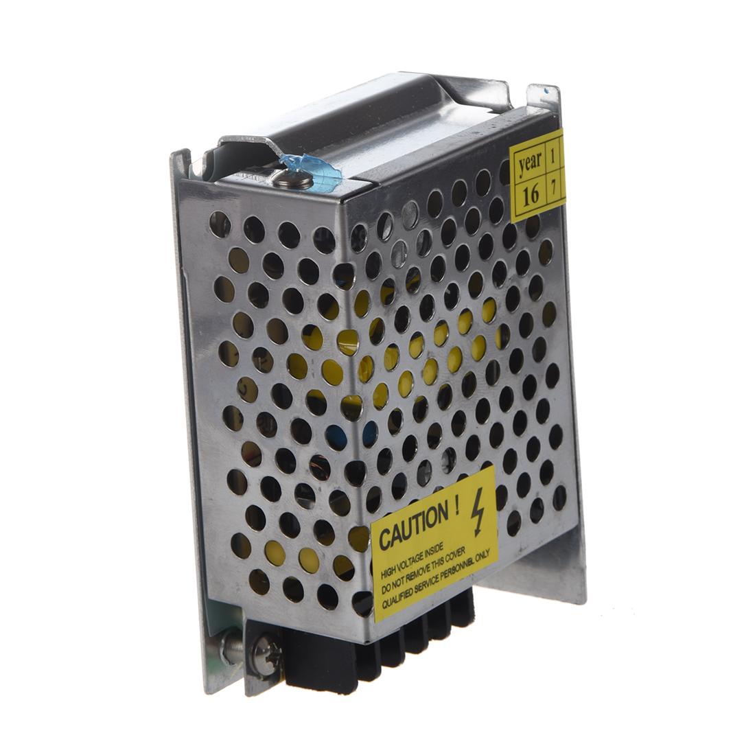 Transformador interruptor para tira led strip 24w tension for Transformador para led