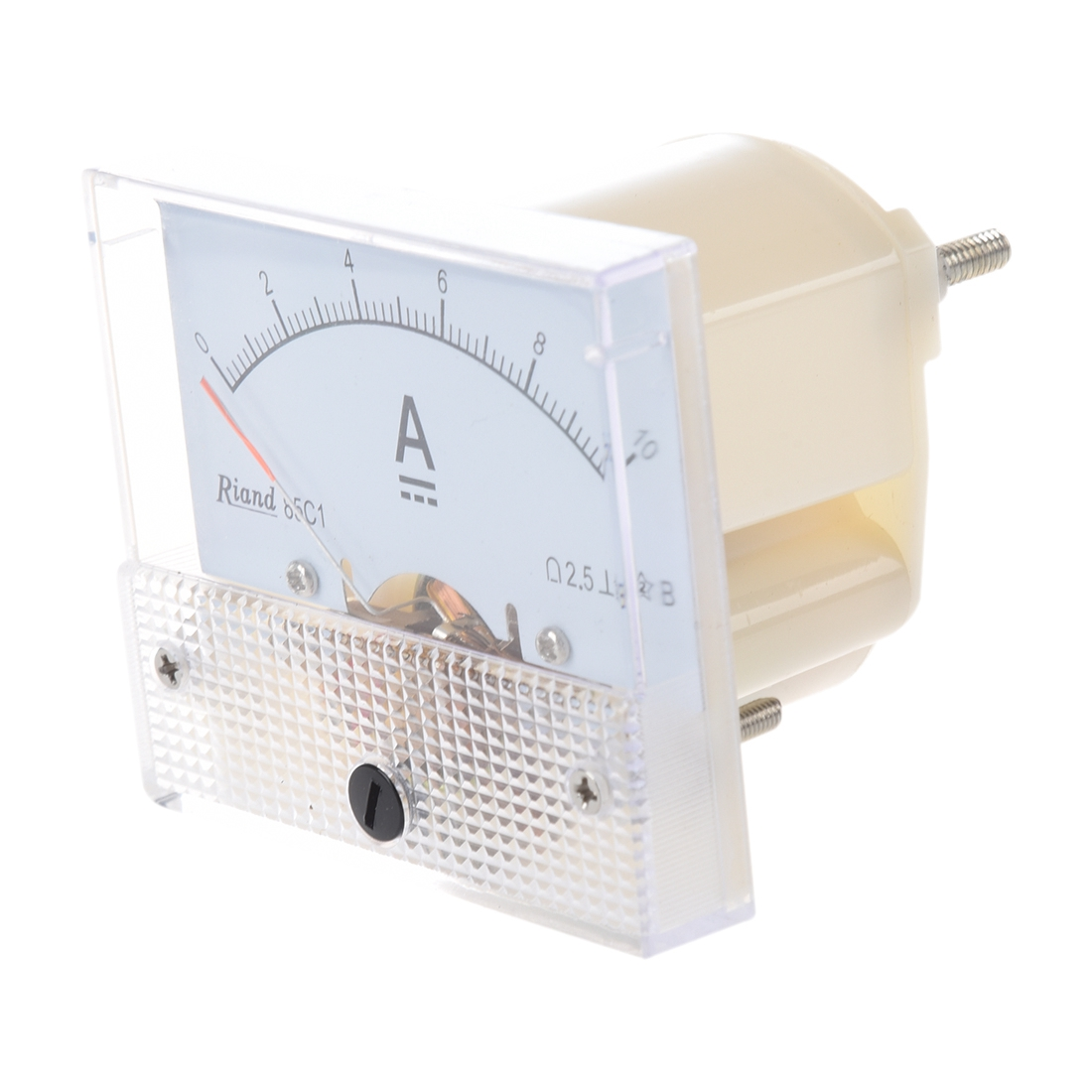 how to read ammeter scale