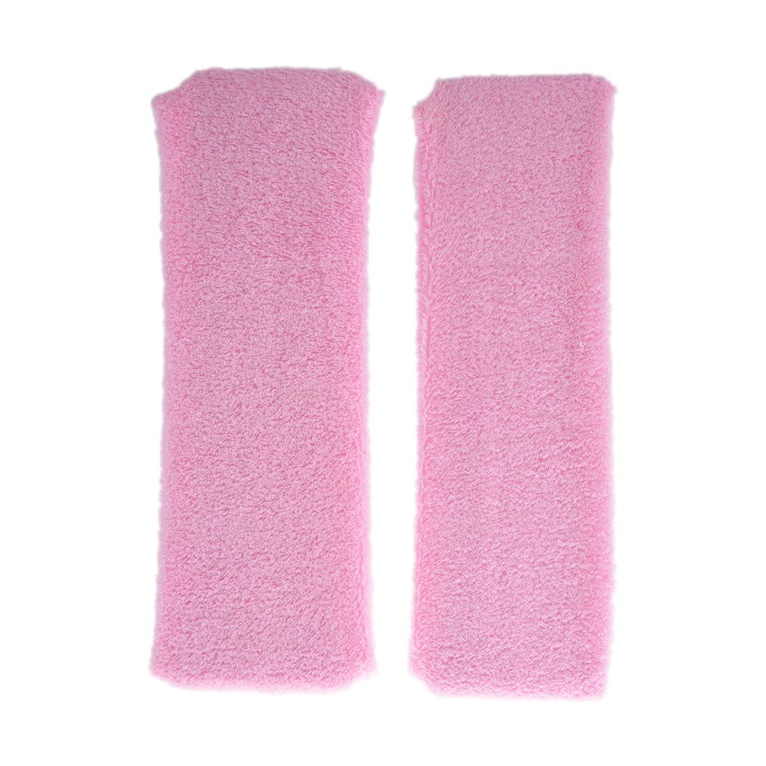 Z2G3 10X 2Pcs Light Pink Athletic Sports Terry Stretchy Sweatband Headband Z2G3