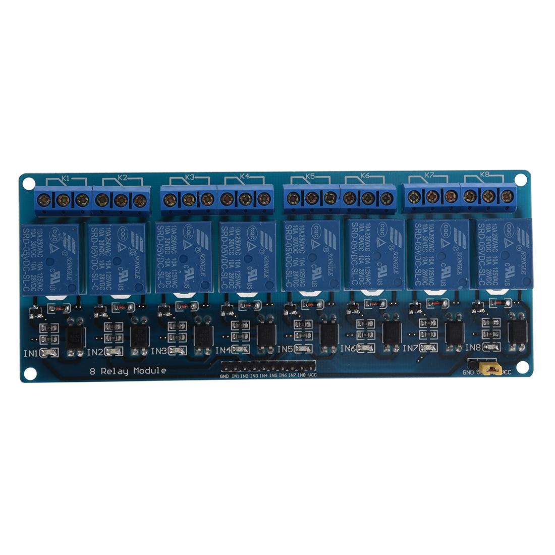 V channel relay module board for arduino pic avr mcu