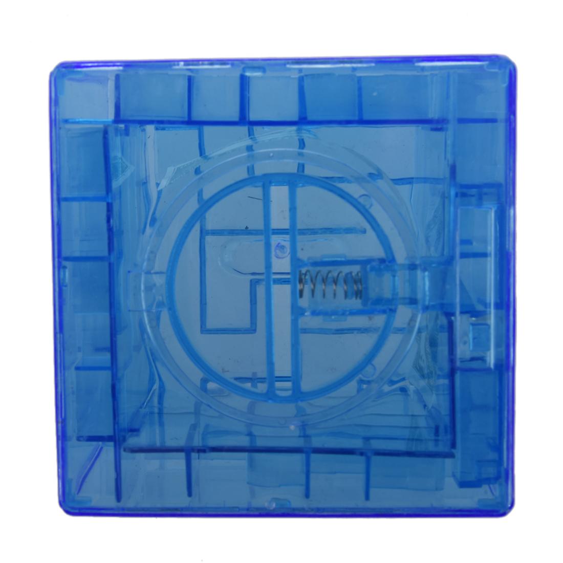 Plastic cubic money maze bank saving coin collection case for Maze coin bank