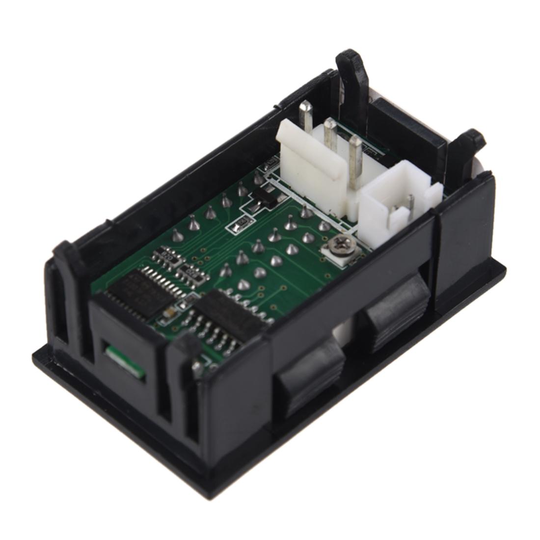 Dc Digital Volt Meter : V a dc dual digital voltmeter ammeter led amp