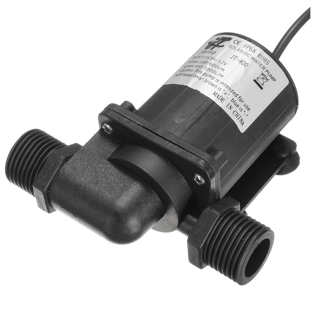 Dc 12v Electric Solar Brushless Motor Water Pump