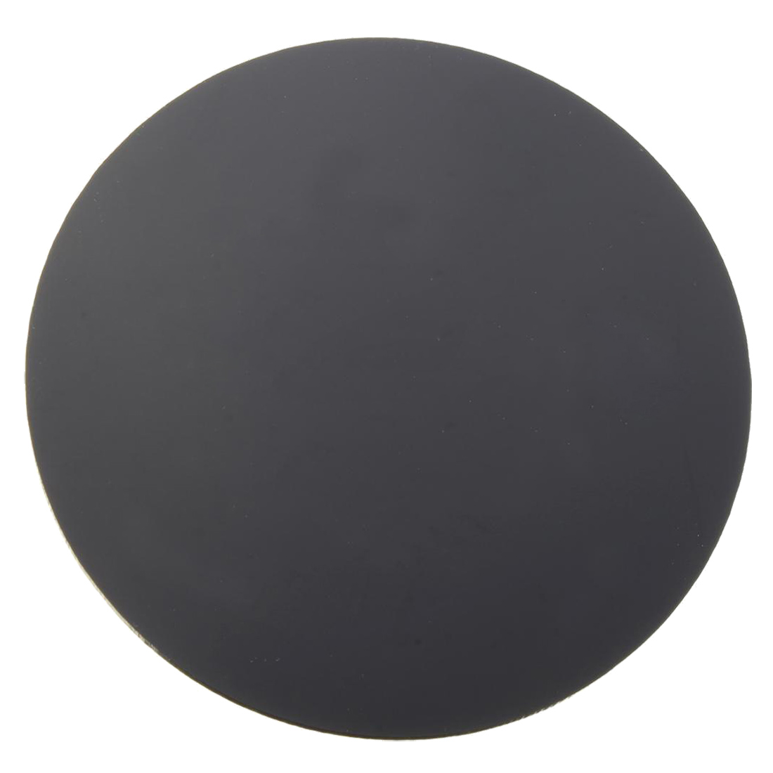 3mm Thick Mirror Acrylic Round Sheet Black Diameter 100mm