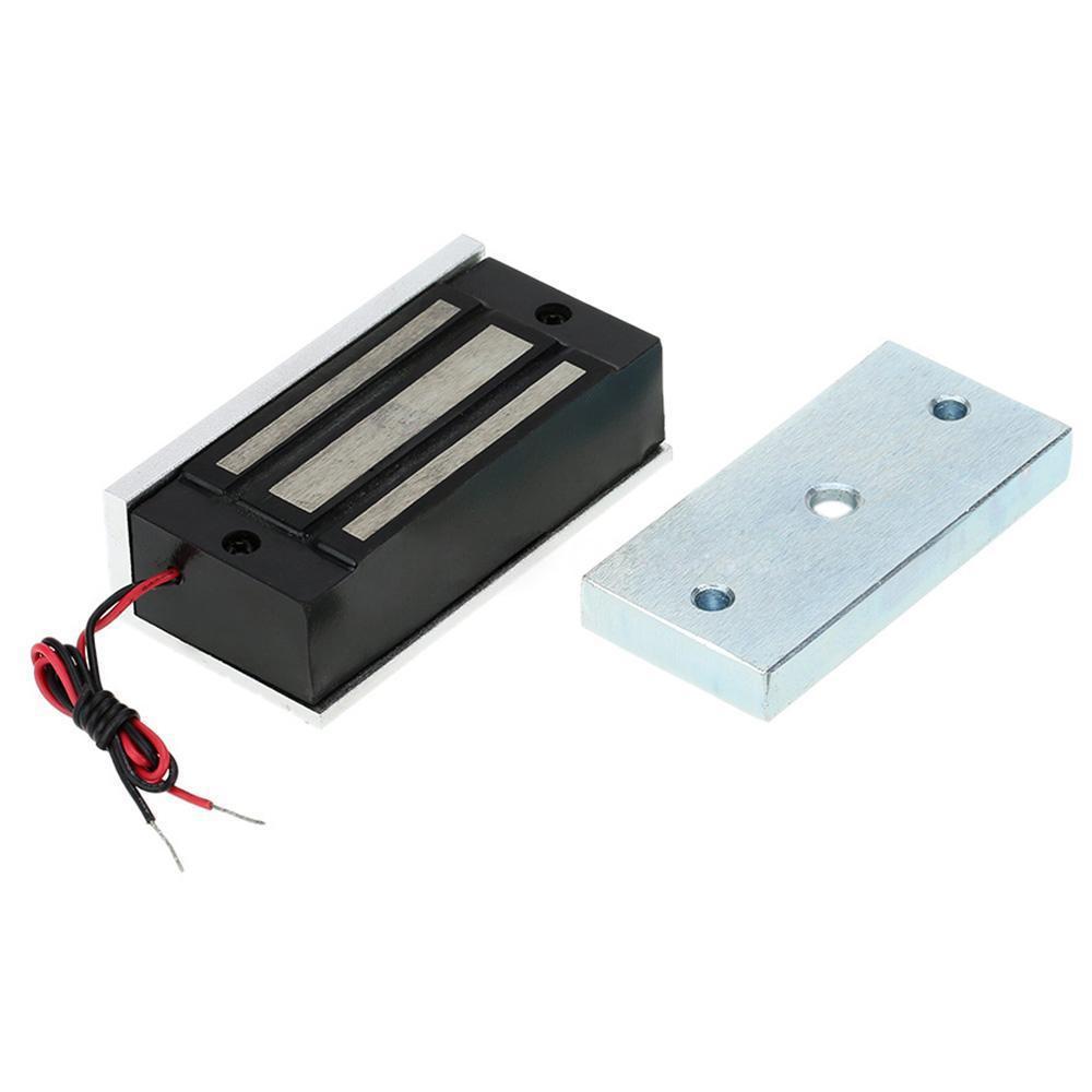 12v door locks magnetic lock 60kg holding force door for 12v magnetic door lock