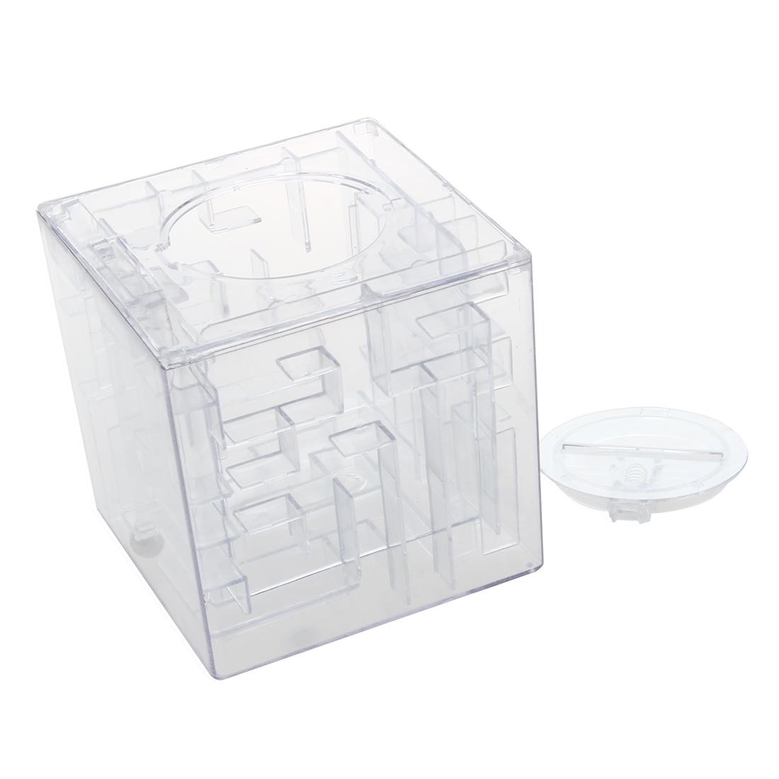 New money maze coin box puzzle gift prize saving bank dt for Maze coin bank