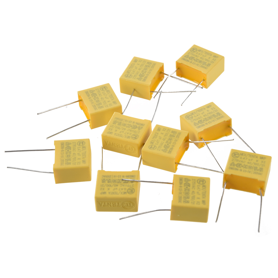 3X-AC-275V-0-47uF-Condensadores-de-seguridad-de-pelicula-de-poropileno-10pz-K8A9