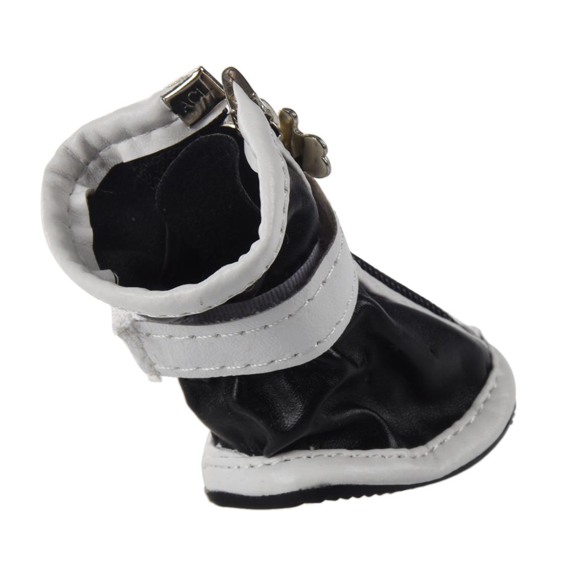 4er Set Pvc Hunde Pfotenschutz Schuhe Hundeschuhe