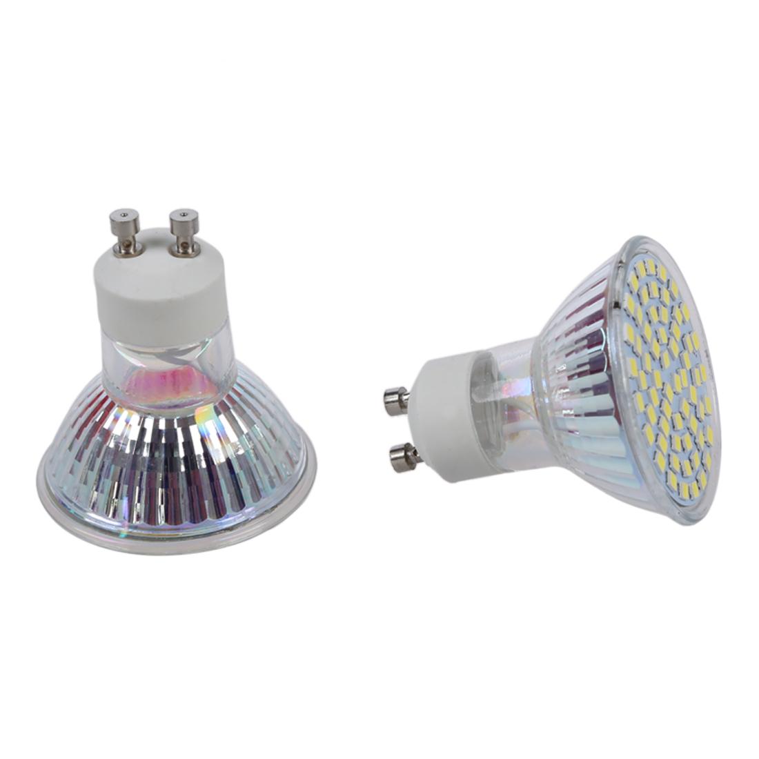 10x 5w gu10 60 3528 smd led weiss 6500k spot licht gluehlampe lampen 220v neu me. Black Bedroom Furniture Sets. Home Design Ideas