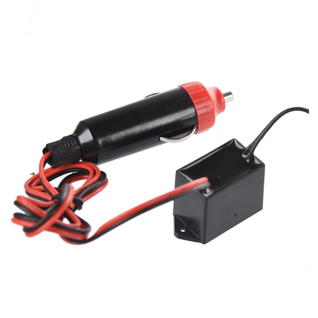 flexible el wire neon led car light party rope tube 12v inverter o7b9. Black Bedroom Furniture Sets. Home Design Ideas