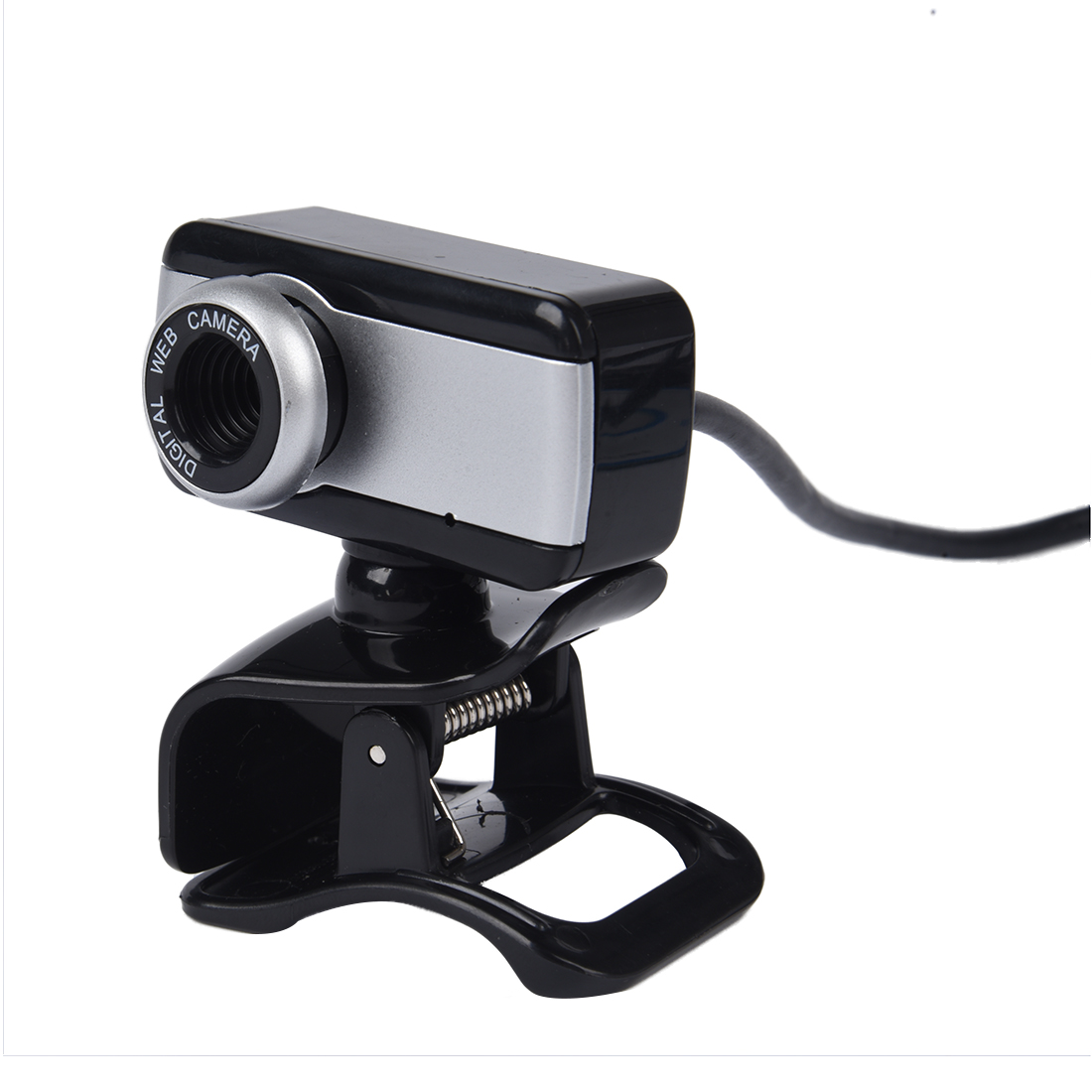 2x usb kamera webcam mit mic cd fuer pc laptop schwarz de ebay. Black Bedroom Furniture Sets. Home Design Ideas