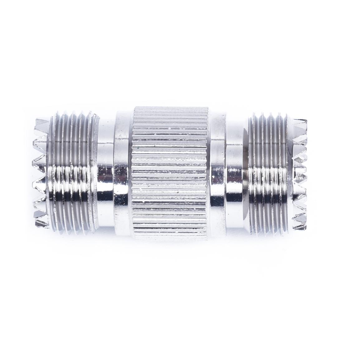 5X-U-UHF-SO-239-Female-to-Female-Straight-Adapter-2-Pcs