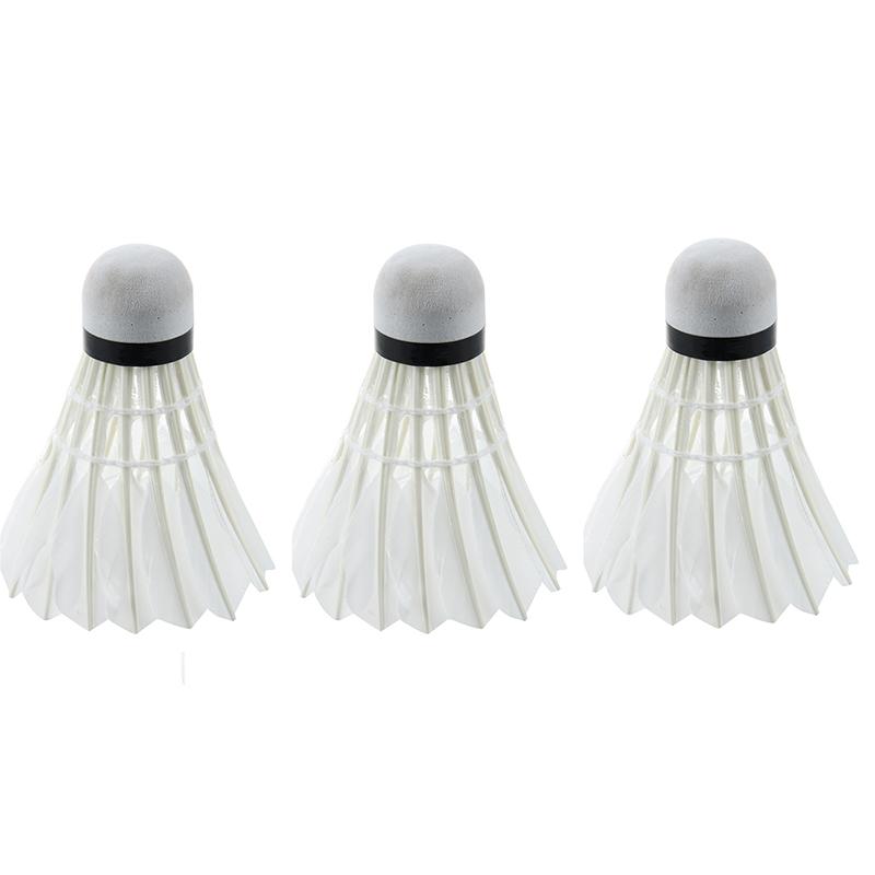1 Satz von 3 Stuecken Blau Dunkle Nacht Badminton mit LED Licht Beleuchtung