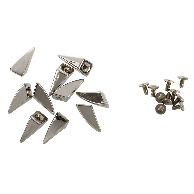 10pcs Dragon Claw Spikes Studs for DIY Craft Leathercraft--Matching Screws T8 7X