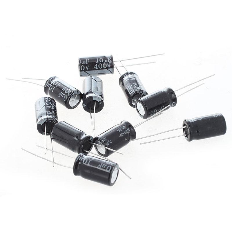 10 x 400V 10uF niedrig ESR Impedanz Elektrolytkondensatoren Kondensator Z6Q4