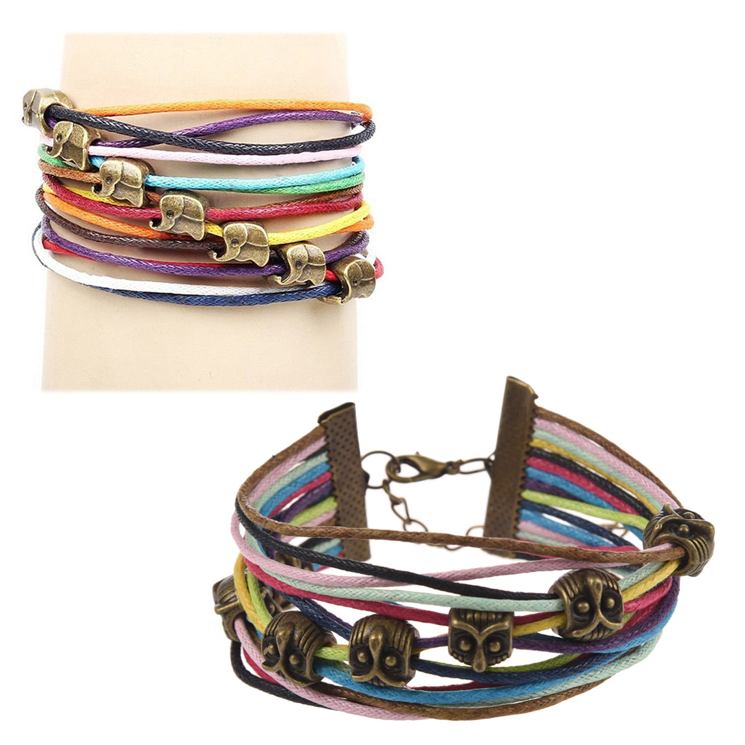 Multilayer-Wrap-Braided-Rope-Lucky-Charms-Bracelet-Elephant-Pattern-Q4G7
