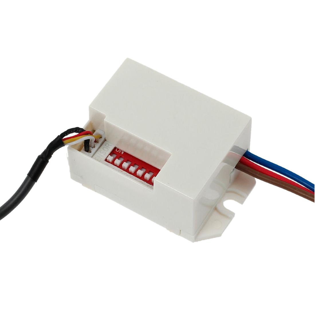 Installing Recessed Lighting Switch: 360 Degree Recessed PIR Sensor Detector Ceiling Occupancy