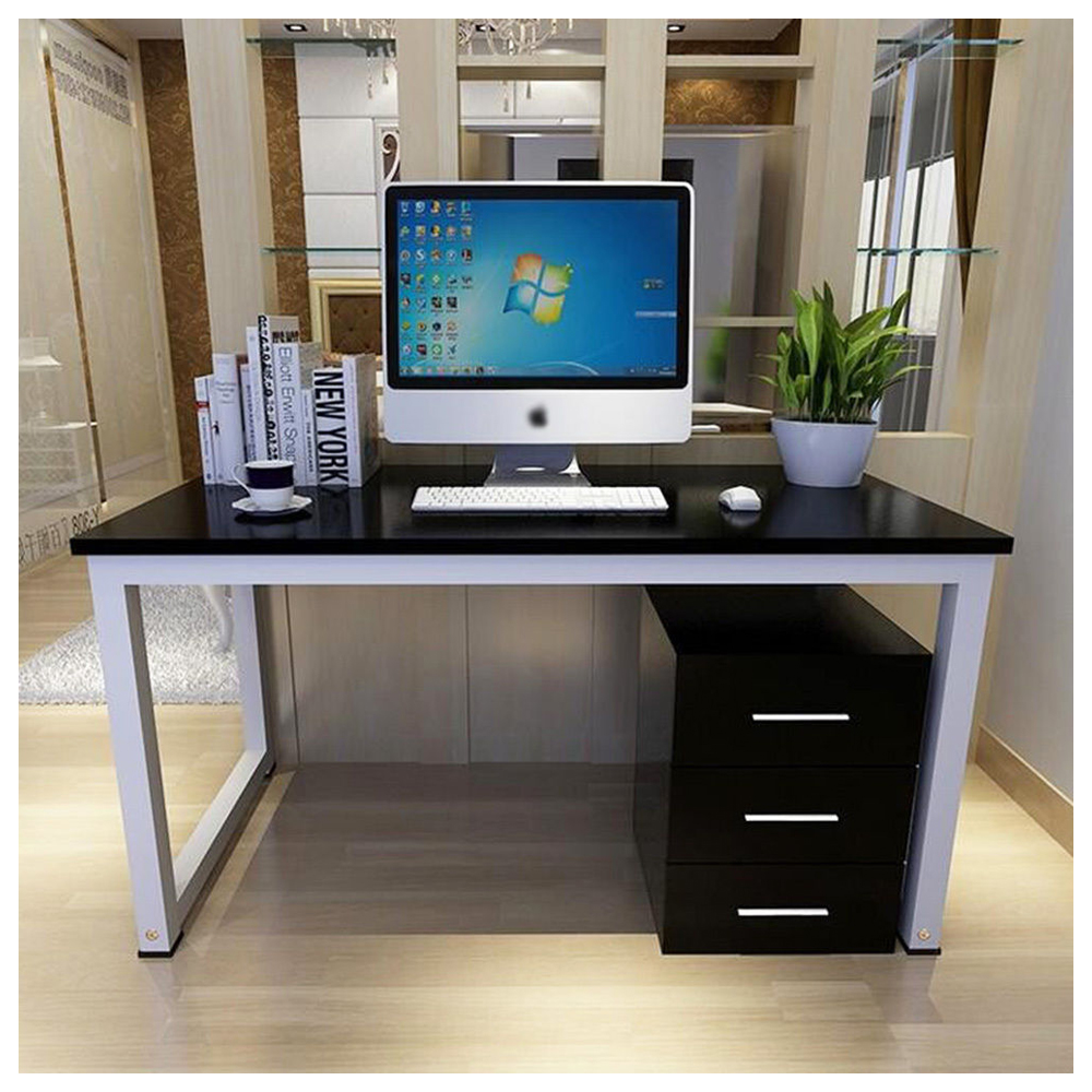 Modern Metal Computer PC Home Office Desk Study Table Bedroom
