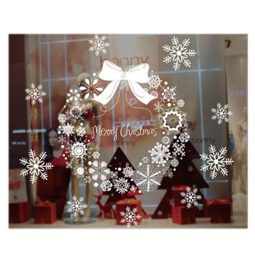 Christmas wall sticker christmas decorations for home for Christmas home window decorations