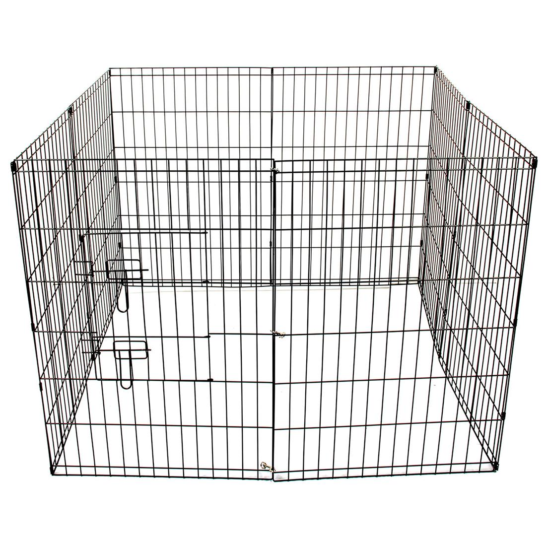 8 Panel Metal Pet Dog Animal Exercise Playpen Fence