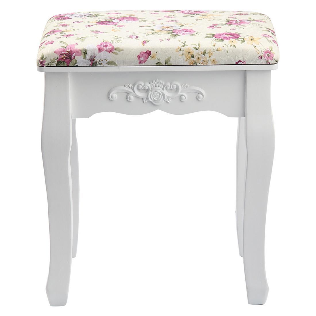 rose tabouret de dressage vintage chaise de piano rembourree pour repos t2r2 eur 94 84. Black Bedroom Furniture Sets. Home Design Ideas
